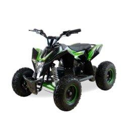 Детский квадроцикл бензиновый Motax GEKKON 70cc  (1+1) черно-зеленый (пульт контроля, до 45 км/ч, реверс)